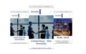 New Melchers China website was launched!